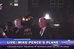 Máy bay chở ứng cử viên Phó tổng thống Mỹ trượt khỏi đường băng