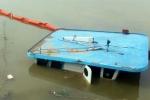 Lốc xoáy nhấn chìm sà lan, 2 người thiệt mạng trong đêm
