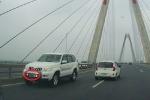 Tước bằng lái tài xế xe biển xanh của Bộ Y tế đi ngược chiều trên cầu Nhật Tân