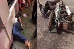 Dân truy đuổi, đạp ngã xe máy tên cướp trên phố Sài Gòn