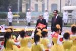 Ảnh: Lễ đón Nhà vua và Hoàng hậu Nhật Bản