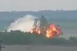 Video: Máy bay quân sự Nga rơi, nổ tung thành cầu lửa trước khi hạ cánh