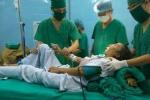 Cắt bỏ thành công khối u 'khủng' trong tử cung bệnh nhân bị dị tật bẩm sinh