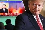 Triều Tiên thử tên lửa, Tổng thống Donald Trump nói gì?