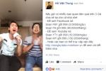 Hồ Việt Trung 'chuộng' livestream bằng gói Facebook data giá rẻ của MobiFone