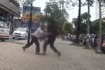 Bị điều chạy cuốc ngắn, tài xế taxi đấm đá túi bụi nhân viên điều hành