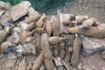 Đào được kho đạn pháo 'khủng' ở Quảng Ninh