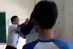 Bị thách thức, thầy giáo đánh nữ sinh giữa lớp