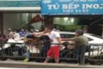 Nam thanh niên 'hổ báo' đòi đánh người đi đường sau va chạm giao thông