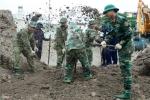Ảnh: Tìm thấy nhiều di vật tại nơi nghi mộ tập thể liệt sĩ trong Tân Sơn Nhất