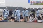 Xác định nguyên nhân 34 học sinh Nhật phải cấp cứu ở sân bay