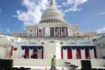 'Đại công trường' Washington D.C trước ngày Trump nhậm chức