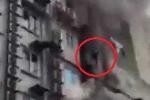 Clip lính cứu hỏa căng mình trong đám cháy dữ dội ở Trần Thái Tông