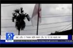 Clip: 3 thanh niên ngáo đá rủ nhau nhảy cầu tự tử ở Bạc Liêu
