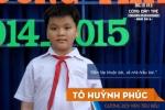 Chân dung cậu học trò lớp 6 là ứng viên 'Công dân trẻ tiêu biểu TP.HCM 2016'