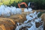 Một công ty chôn 200 tấn bùn thải trong Formosa Đồng Nai