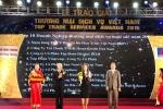 BIDV đứng thứ nhất trong Top 10 Doanh nghiệp Thương mại dịch vụ Xuất sắc