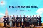 Trung Quốc-ASEAN tái khẳng định giải quyết tranh chấp bằng đối thoại
