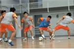 World Cup Futsal: Tuyển Việt Nam tập đá siêu tấn công