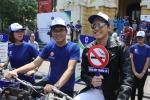 Nhiều người nổi tiếng tham gia đạp xe kêu gọi cộng đồng không hút thuốc lá