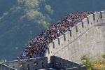 Ảnh: Dân Trung Quốc khổ sở 'tận hưởng' kỳ nghỉ dài