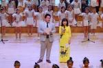 Thần đồng Đỗ Nhật Nam 'hát cùng những niềm vui' mang hạnh phúc đến bệnh nhi