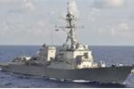 Tàu Hải quân Mỹ nổ súng cảnh cáo khi bị tiếp cận
