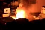 Ngôi nhà bốc cháy dữ dội giữa Sài Gòn sau tiếng nổ lớn