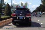 4 chiếc xe Lexus 570 ở Sóc Trăng đồng loạt gắn biển xanh