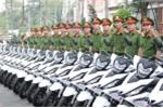 Bình Dương: Trang bị 100 mô tô cho cảnh sát phòng chống tội phạm