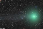 Sao chổi xanh kì lạ xuất hiện vào cuối tuần này