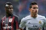 Tin chuyển nhượng tối 25/8: Balotelli muốn gia nhập MU, Liverpool thèm khát sao Real