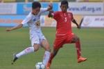 U19 HAGL Arsenal JMG thua đậm U19 Myanmar, tan mộng chung kết