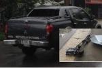 Kẻ lạ lái xe tông thẳng nhóm phóng viên VTV, đâm nát máy quay hơn 1 tỷ đồng