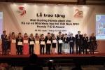 10 nhà khoa học trẻ Việt Nam nhận giải thưởng hơn 30.000 USD