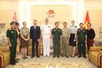 Việt Nam - Australia tăng cường hợp tác quốc phòng