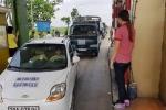 Sau vụ Bến Thủy, dân Hà Tĩnh lại đưa ôtô phản đối trạm thu phí Cầu Rác