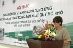 Đại sứ Bỉ phát biểu khai mạc hội thảo về an toàn thực phẩm