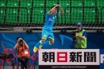 Cầu thủ Việt ăn mừng 'kiểu Ronaldo' ở đấu trường châu Á