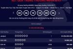 Lần thứ ba có người trúng số Vietlott 31 tỷ đồng tối thứ 6