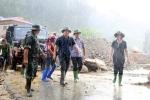 Phó Thủ tướng đội mưa kiểm tra công tác khắc phục hậu quả lũ quét ở Yên Bái