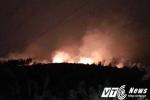 Cháy lớn một khu rừng ở thành phố Hạ Long, Quảng Ninh