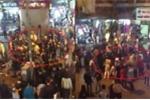 Hai nhóm thanh niên hỗn chiến trên phố đi bộ Hà Nội
