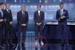 Antoine Griezmann bị châm biếm vì đi giày 'xấu' lên nhận giải