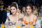 Hoa hậu Đỗ Mỹ Linh, Á hậu Huyền My khoe ngực đầy sexy khó rời mắt