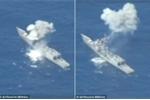 Tàu khu trục Mỹ bị bắn phá tan tác trên Thái Bình Dương
