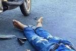 Nổ súng bắn chết một người giữa đường ở Khánh Hòa: Khẩu súng rơi ở hiện trường