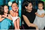 'Tiểu công chúa' nhà Linh Nga, Hà Kiều Anh càng lớn càng đáng yêu