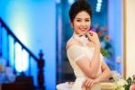 Hoa hậu Ngọc Hân diện váy trắng tinh khôi, gợi cảm thu hút ánh nhìn