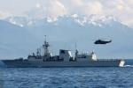Tàu chiến hạm đội Thái Bình Dương Canada đến thăm TP.HCM